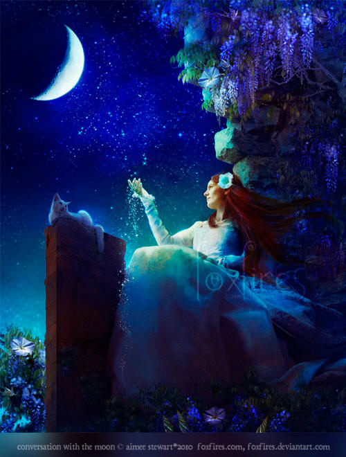 Conversation with the Moon by Aimee Stewart